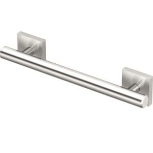 "Gatco 950 Elevate Grab Bar 12"" Satin Nickel Steel"